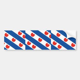 Frisian, Países Bajos Etiqueta De Parachoque