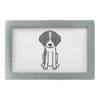Frisian Pointing Dog Cartoon Belt Buckle