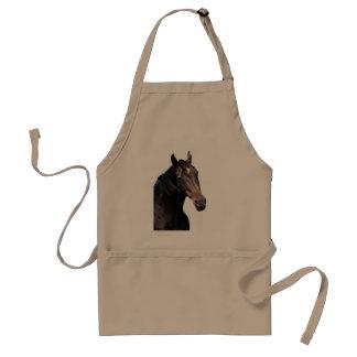 Frisian stallion. adult apron