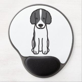Frisian Water Dog Cartoon Gel Mousepads