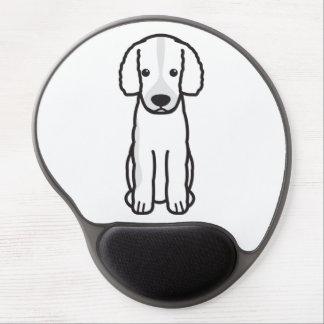 Frisian Water Dog Cartoon Gel Mouse Mats