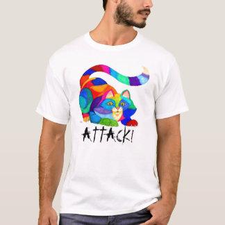 Frisky attack cat T-Shirt