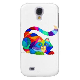 Frisky cat galaxy s4 case