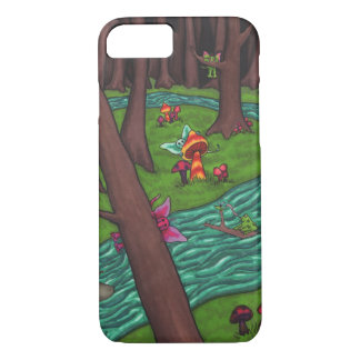 Frisky Fairy Forest iPhone 7 Case