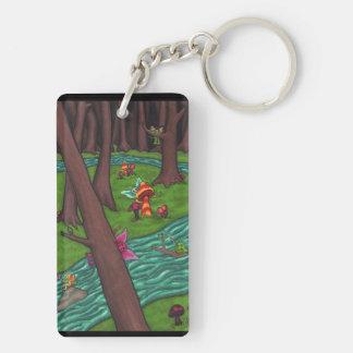 Frisky Fairy Forest Keychain
