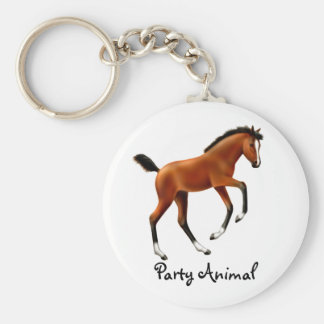 Frisky Foal Party Animal Keychain