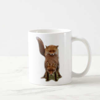 Frisky Foxes Mugs