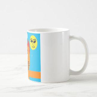frisky the cat mug