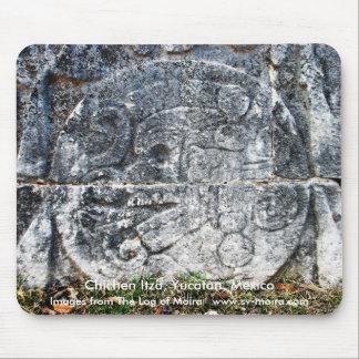Friso, corte de la bola, Chichen Itza, Yucatán, Mé Alfombrilla De Raton