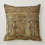 Friso de archers del guardia del rey persa, para cojin