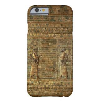 Friso de archers del guardia del rey persa, para funda para iPhone 6 barely there