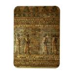 Friso de archers del guardia del rey persa, para imanes