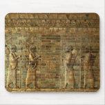 Friso de archers del guardia del rey persa, para mouse pads