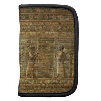 Friso de archers del guardia del rey persa, para planificadores