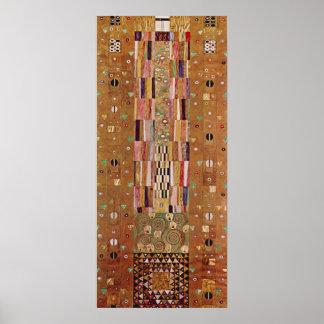Friso de Gustavo Klimt Impresiones