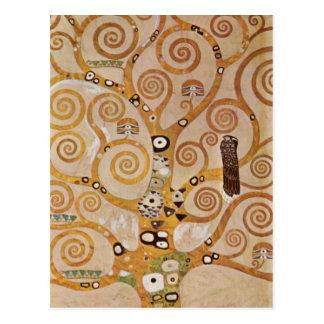 Friso II de Gustavo Klimt Postales