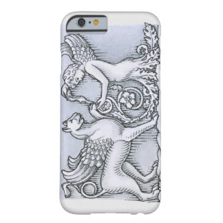 Friso que representa el animal con alas mítico y funda de iPhone 6 barely there