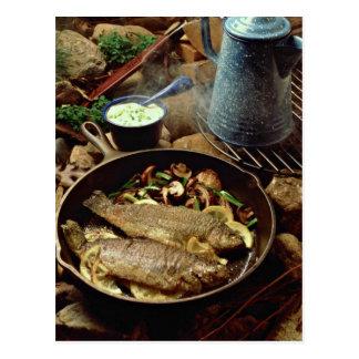 Fritada de pescado deliciosa postales