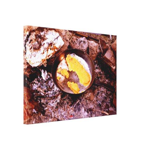 fritada de pescado impresion de lienzo