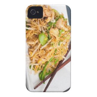 Fritada tailandesa del Stir de los tallarines de Case-Mate iPhone 4 Cobertura