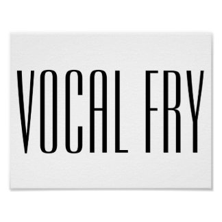 Fritada vocal póster