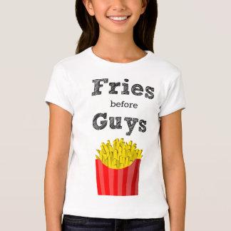 Fritadas antes de la camiseta adolescente de los remeras