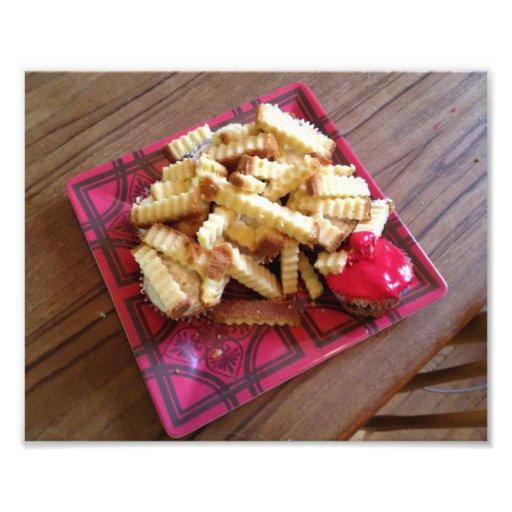 Fritadas de la magdalena impresion fotografica
