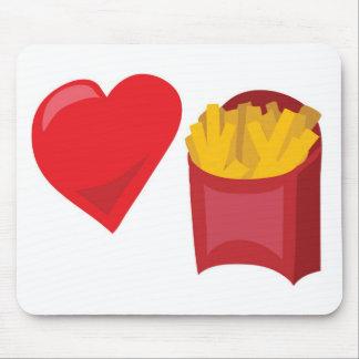 ¡Fritadas del amor!  Personalizable: Tapetes De Raton