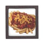 Fritadas del queso del chile caja de recuerdo de calidad