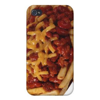 Fritadas del queso del chile iPhone 4 fundas
