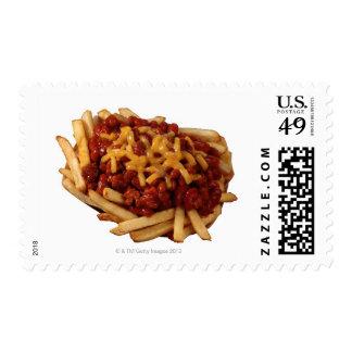 Fritadas del queso del chile sello postal
