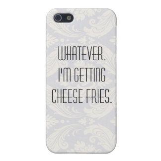 Fritadas del queso iPhone 5 fundas