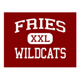 Fritadas - gatos monteses - High School secundaria Tarjeta Postal
