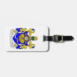 Frith Coat of Arms Travel Bag Tag