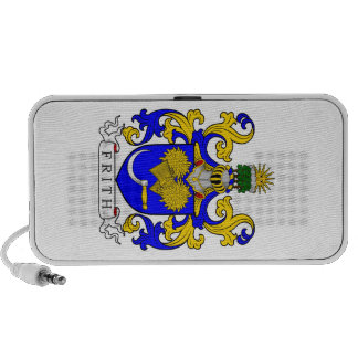 Frith Coat of Arms iPod Speakers