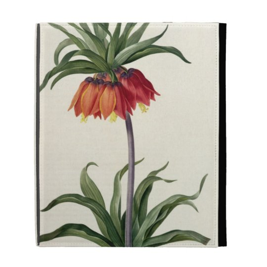 Fritillaria Imperialis from, `Les Lilacees', 1802- iPad Cases