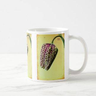 Fritillaria meleagris coffee mug