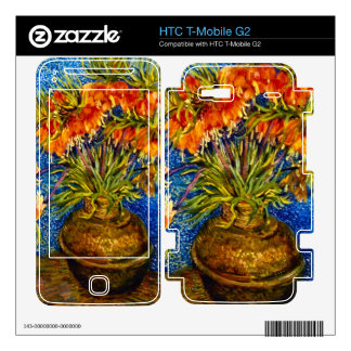 Fritillaries by Vincent Willem van Gogh HTC T-Mobile G2 Skins