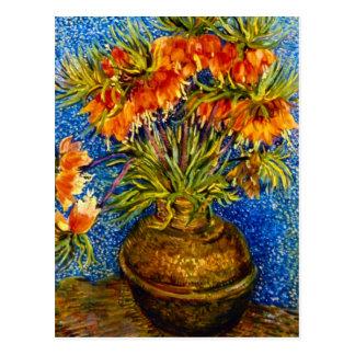Fritillaries de Vincent Willem Van Gogh Tarjetas Postales