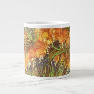 Fritillaries en un florero de cobre de Vincent van Taza Grande