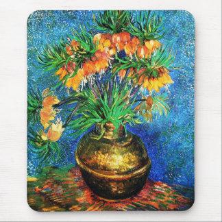 Fritillaries en una bella arte de cobre de Van Mousepad