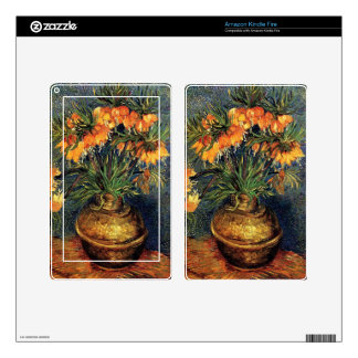 Fritillaries in a Copper Vase by Van Gogh. Kindle Fire Skins