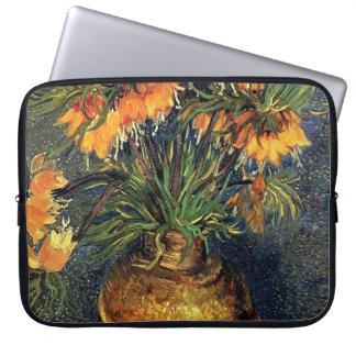 Fritillaries in a Copper Vase by Van Gogh. Laptop Sleeve