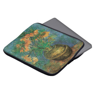 Fritillaries in a Copper Vase by Vincent van Gogh Laptop Sleeve