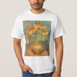Fritillaries in a Copper Vase by Vincent van Gogh T-Shirt