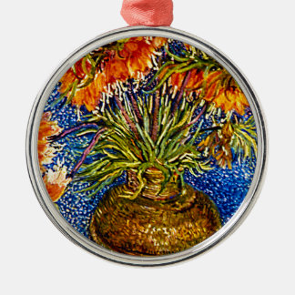 Fritillaries Metal Ornament
