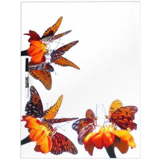 Fritillary Butterflies Sunflower Flower Board