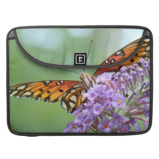Fritillary Butterfly Flower Wildlife Floral Animal Sleeve For MacBook Pro