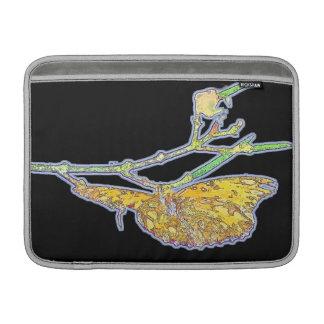 Fritillary Butterfly Flowers Floral Wildlife MacBook Air Sleeve