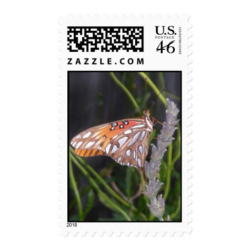 FRITILLARY BUTTERFLY postage